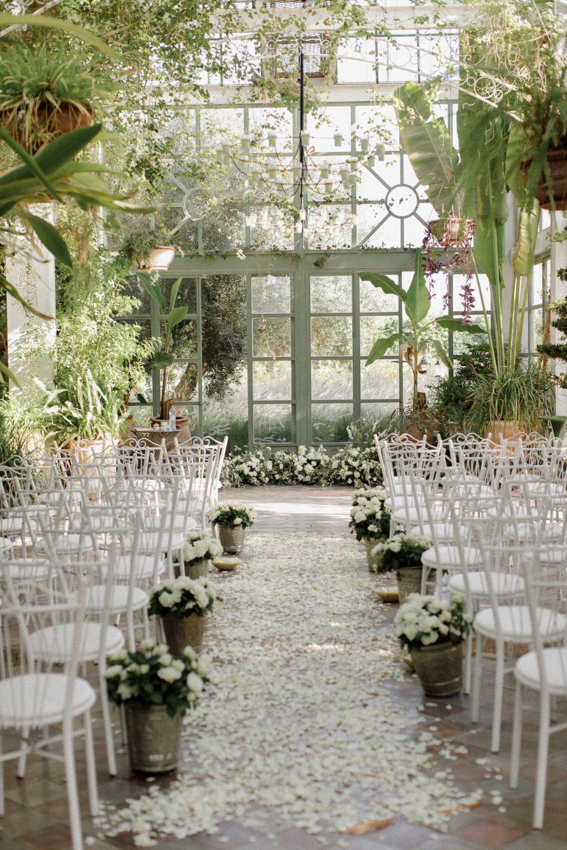 Beldi country club wedding ceremony
