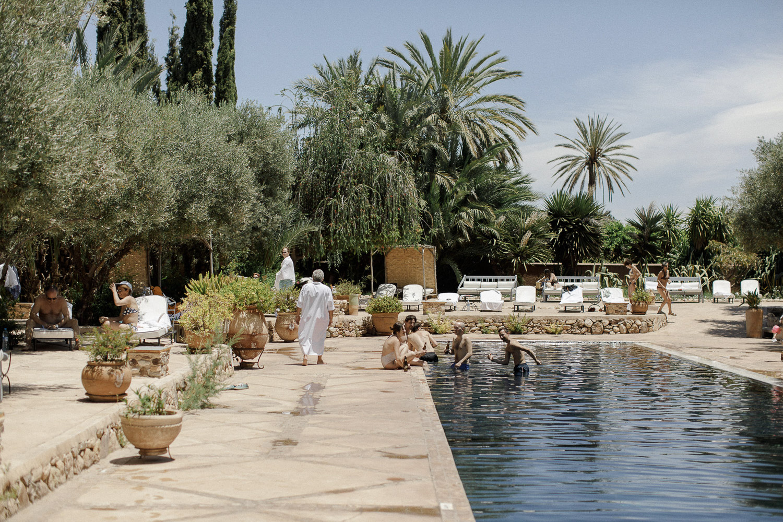 Beldi country club pool Marrakech