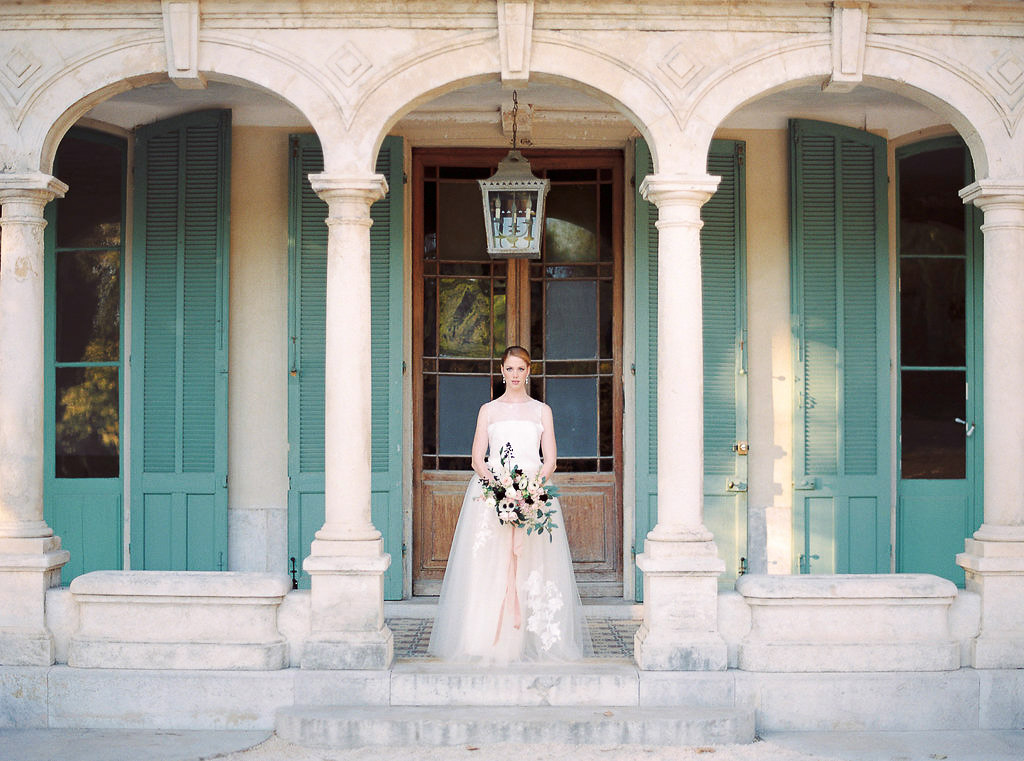 bride in Bastide de Toursainte in Marseille