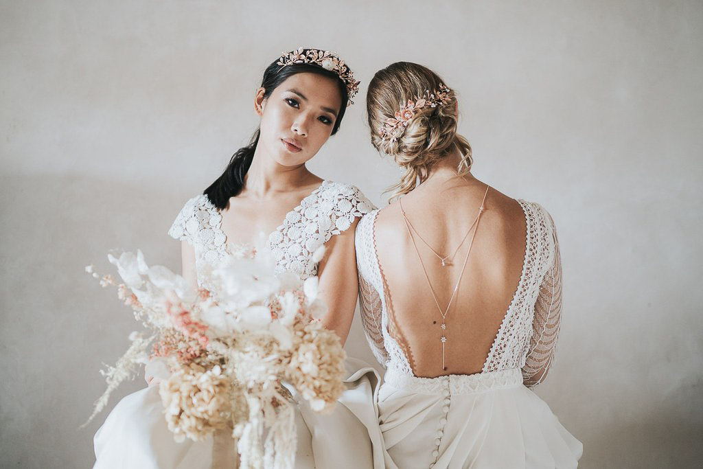 Fashion bridal shoot collection Brand Stylist Veronique Lorre