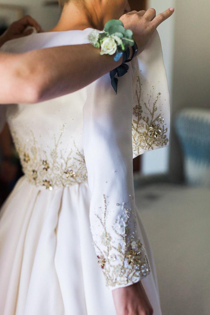 celestina Agostino bride