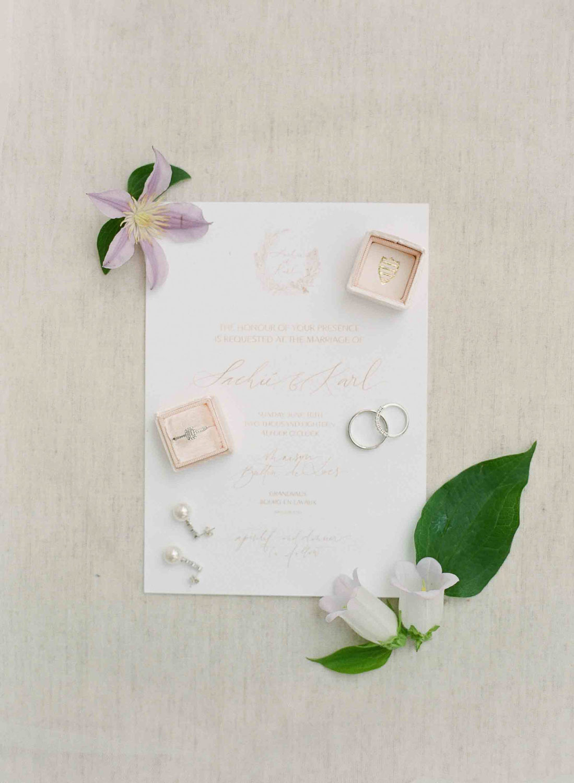 wedding stationary details