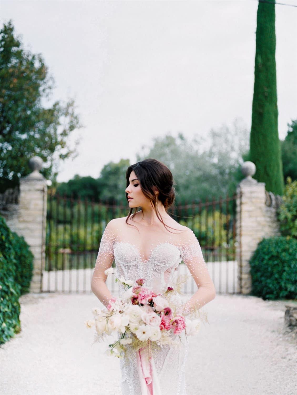 fineart refined modern wedding in Provence