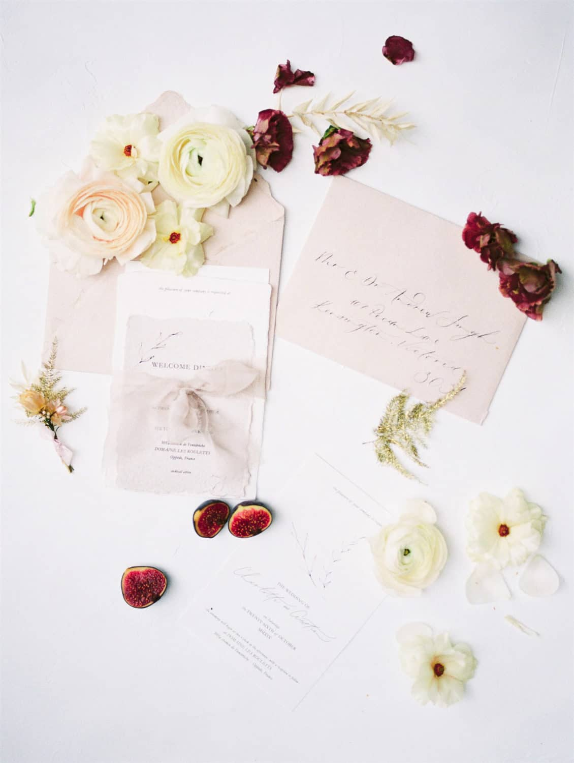 modern refined calligraphy stationary