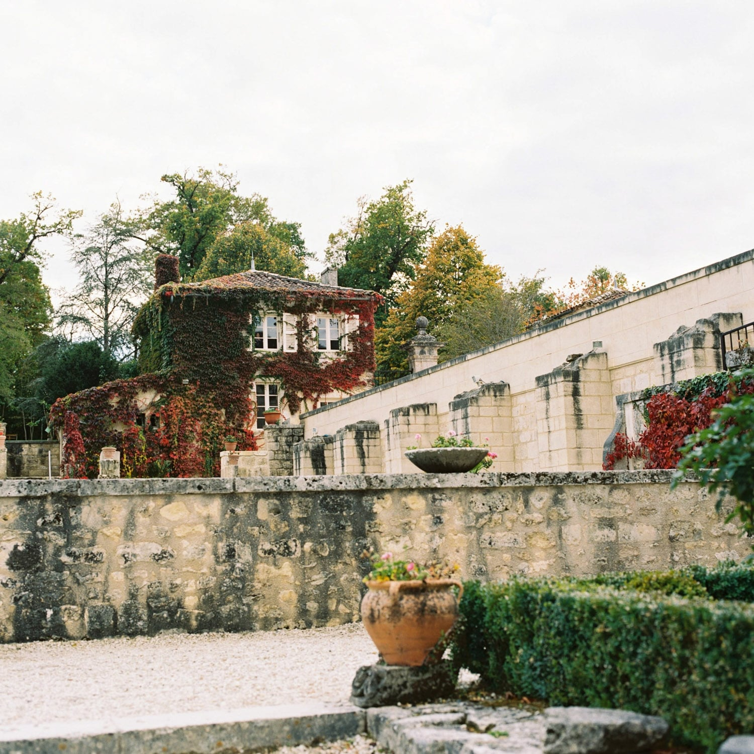 abbaye de Fontdouce, french old abbey