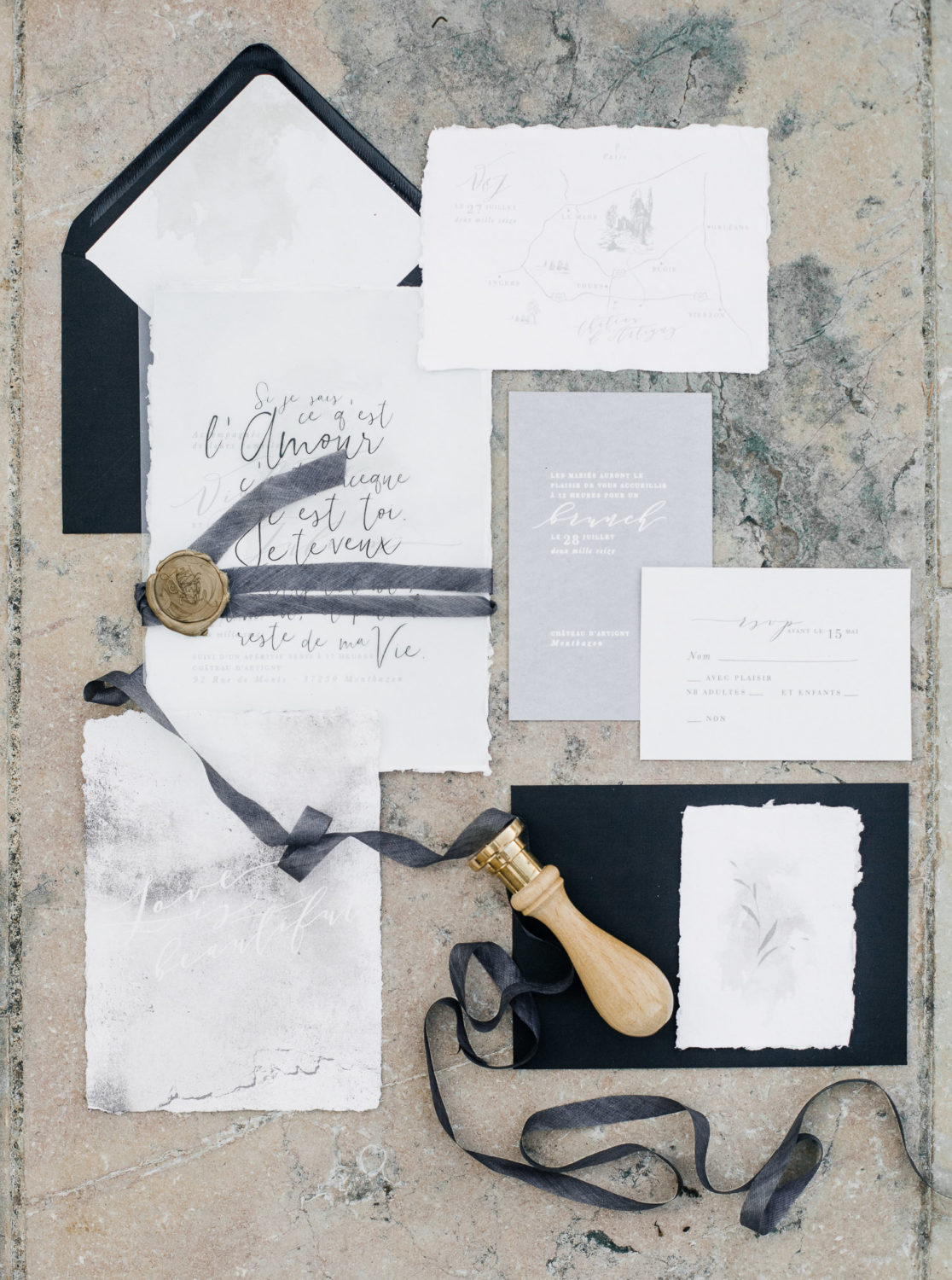 wedding stationary, stationary flatlay, wedding stylist, creative director