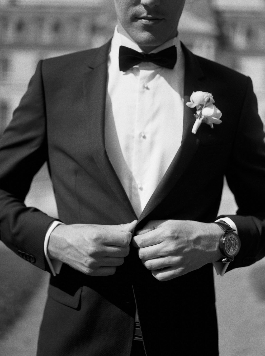 groom outfit, groom, groom chic suit, black tie suit