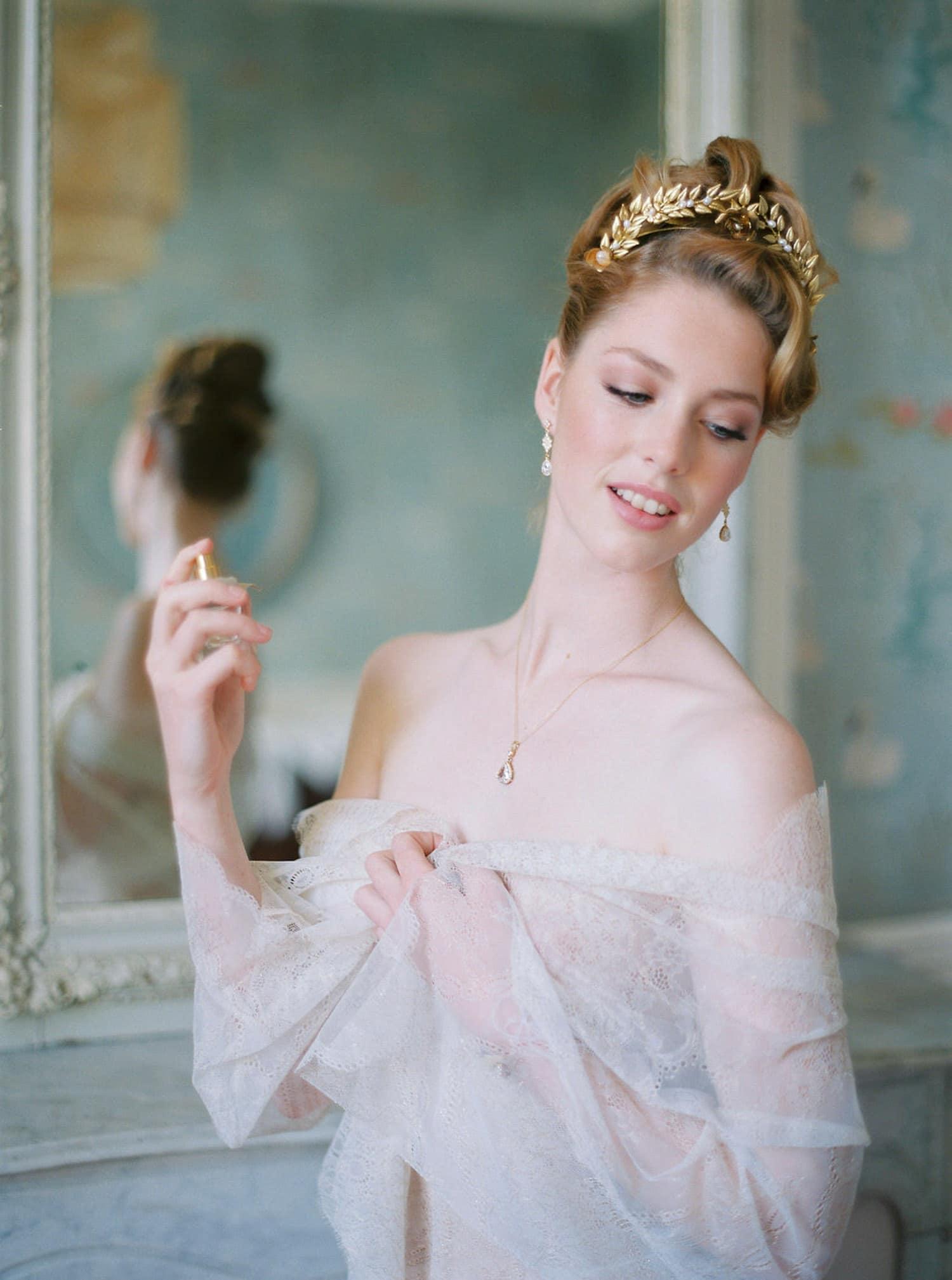 fineart bridal session, film photography, luxury wedding, French riviera, creative director, wedding stylist